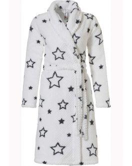 Witte badjas dames sterren
