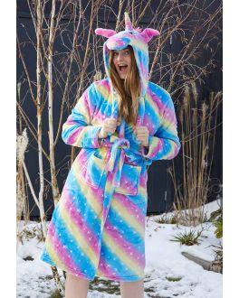 Badjas dames unicorn