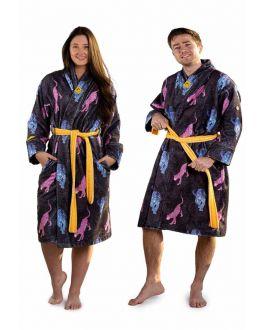 Unisex badjas panter - crazy comfort badjassen