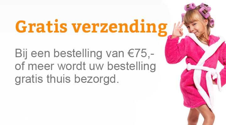 Gratis verzending bij Badjas.nl